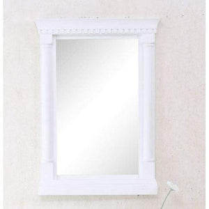 "24"" MATT WHITE MIRROR WLF6036-24-W-M"