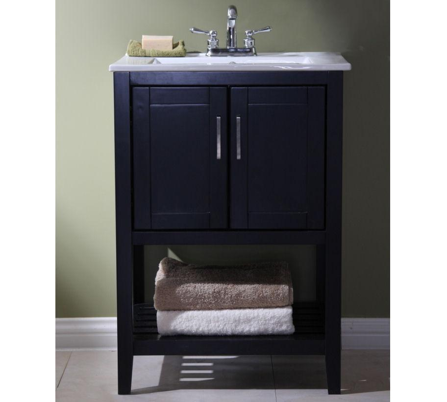 "24"" SINK VANITY WITHOUT FAUCET WLF6020-E"
