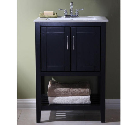 "Image of 24"" SINK VANITY WITHOUT FAUCET WLF6020-E"