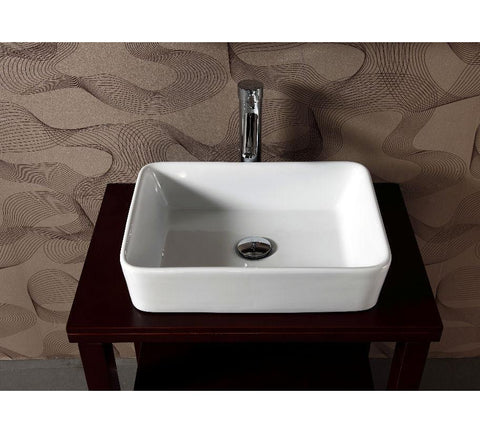 "Image of 26.5"" SINK CHEST  - SOLID WOOD - NO FAUCET WA3150"