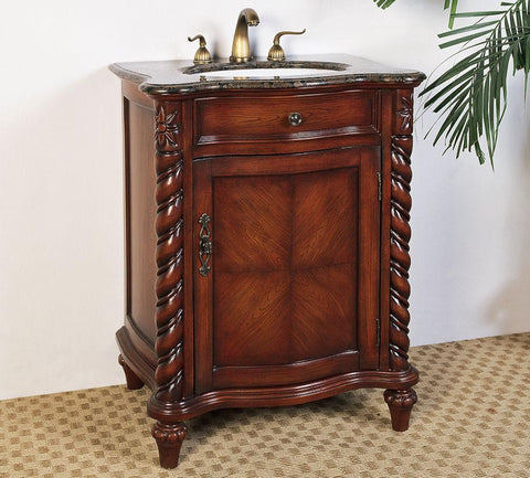 "Image of 26"" SINK CHEST  - NO FAUCET-BACKSPLASH AVALIBLE LF29"
