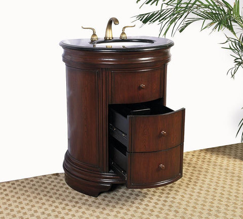 "Image of 28"" SINK CHEST  - NO FAUCET-BACKSPLASH AVALIBLE LF03"