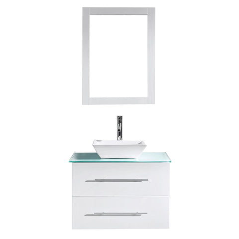 "Image of 29"" Single Bathroom Vanity MS-560-G-WH"
