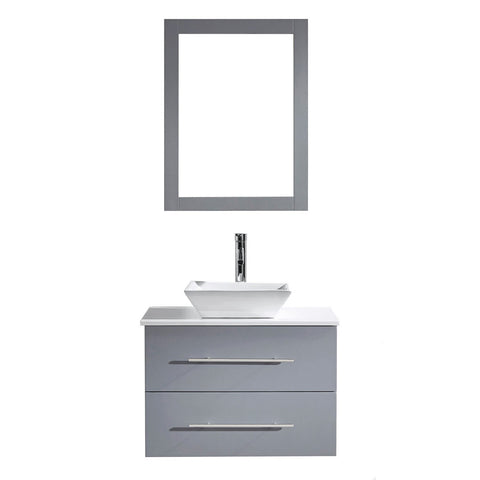 "Image of 29"" Single Bathroom Vanity MS-560-S-GR"