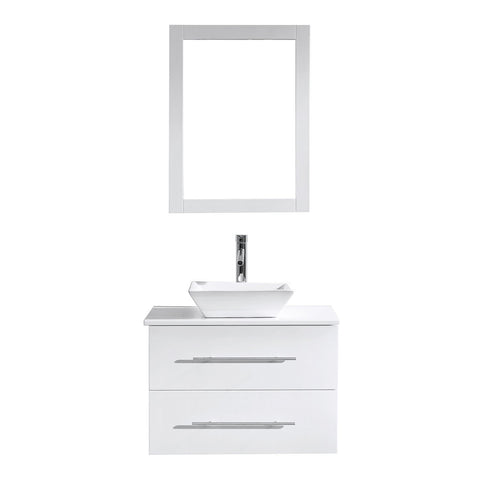 "Image of 29"" Single Bathroom Vanity MS-560-S-WH"