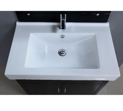 "Image of 31.5"" SINK CHEST  - SOLID WOOD - NO FAUCET WA3107"