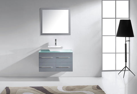 "Image of 35"" Single Bathroom Vanity MS-565-G-ES"