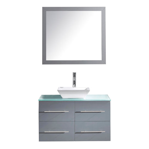 "Image of 35"" Single Bathroom Vanity MS-565-G-GR"