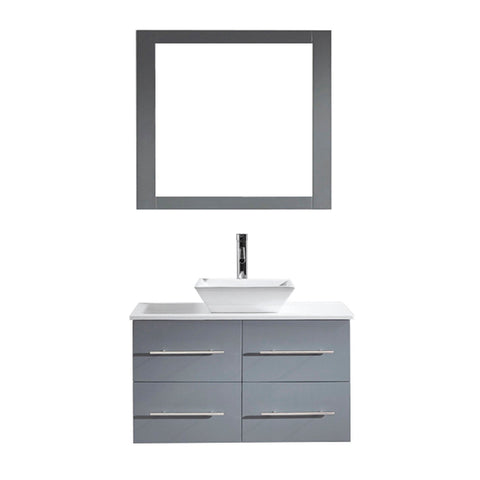 "Image of 35"" Single Bathroom Vanity MS-565-S-GR"