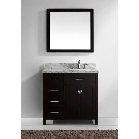 "Image of 36"" Single Bathroom Vanity MS-2136L-WMRO-CG"