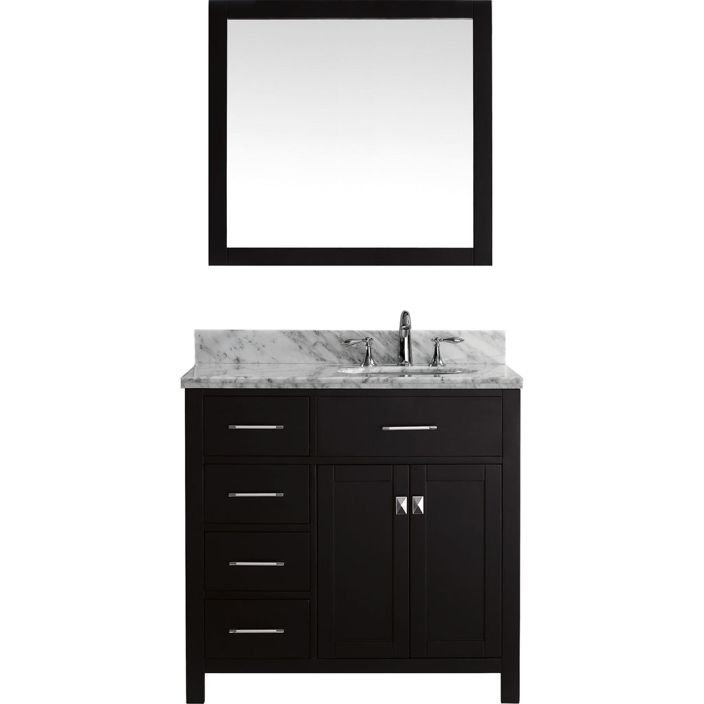 "36"" Single Bathroom Vanity MS-2136L-WMRO-ES"