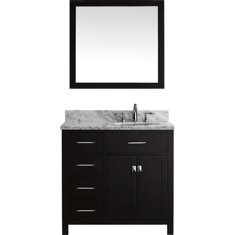 "Image of 36"" Single Bathroom Vanity MS-2136L-WMRO-ES"