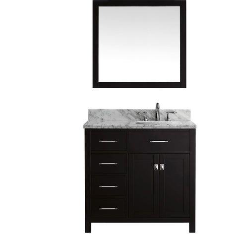 "Image of 36"" Single Bathroom Vanity MS-2136L-WMSQ-ES"
