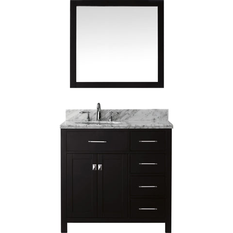 "Image of 36"" Single Bathroom Vanity MS-2136R-WMRO-ES"