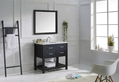 "Image of 36"" Single Bathroom Vanity MS-2236-WMRO-ES"