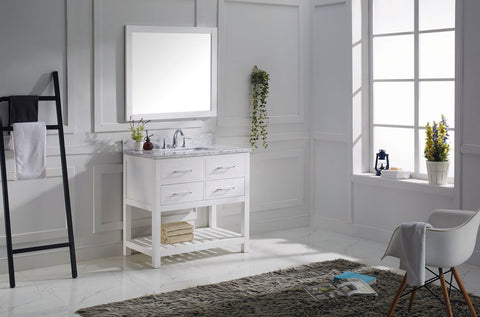 "36"" Single Bathroom Vanity MS-2236-WMRO-ES"