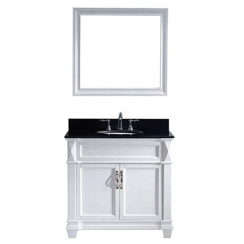 "36"" Single Bathroom Vanity MS-2636-BGRO-WH"