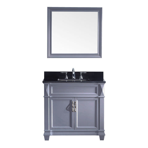 "36"" Single Bathroom Vanity MS-2636-BGSQ-GR"