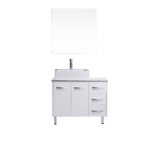 "Image of 36"" Single Bathroom Vanity UM-3069-WM-WH"