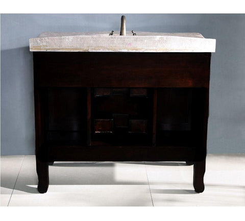 "Image of 38"" SINK CHEST  - SOLID WOOD - NO FAUCET WA3045"