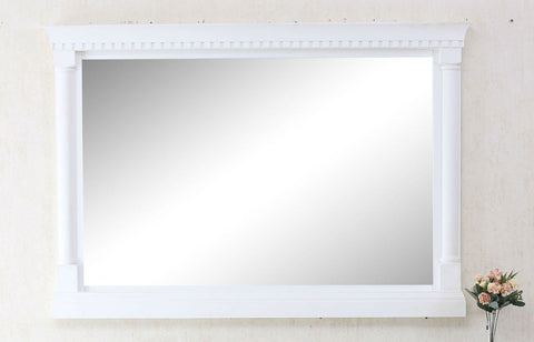 "48"" MATT WHITE MIRROR WLF6036-48W-M"