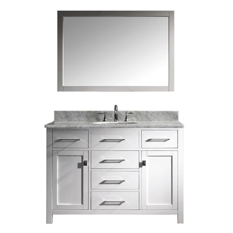 "48"" Single Bathroom Vanity MS-2048-WMRO-WH"
