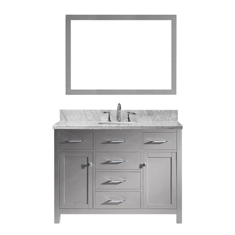 "48"" Single Bathroom Vanity MS-2048-WMSQ-CG"