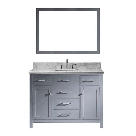 "48"" Single Bathroom Vanity MS-2048-WMSQ-GR"