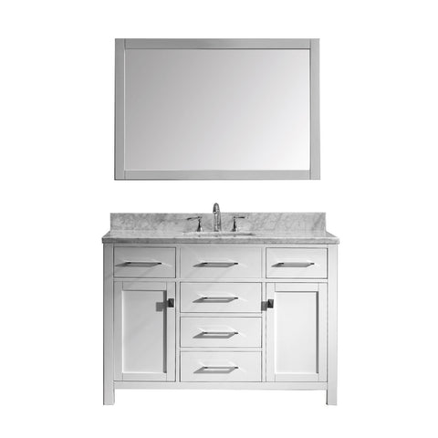 "48"" Single Bathroom Vanity MS-2048-WMSQ-WH"