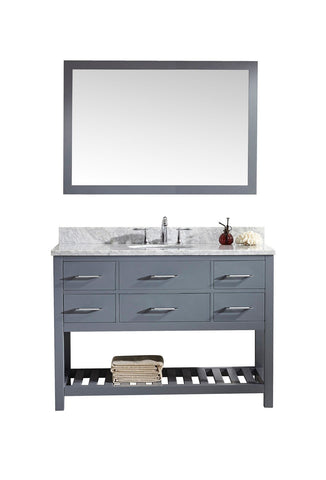 "48"" Single Bathroom Vanity MS-2248-WMRO-GR"
