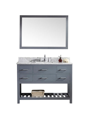 "48"" Single Bathroom Vanity MS-2248-WMSQ-GR"