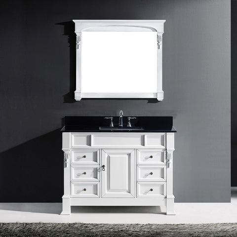 "Image of 48"" Single Bathroom Vanity MS-2948-BGRO-DW"