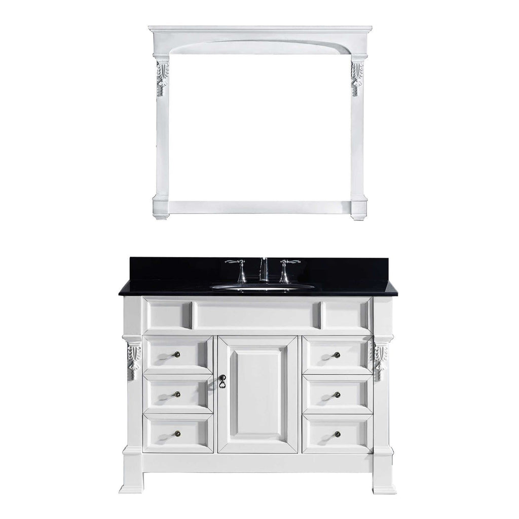 "48"" Single Bathroom Vanity MS-2948-BGRO-WH"