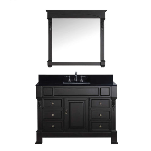 "Image of 48"" Single Bathroom Vanity MS-2948-BGSQ-DW"