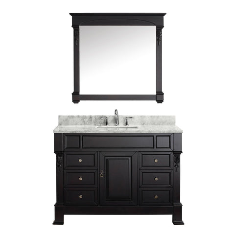 "Image of 48"" Single Bathroom Vanity MS-2948-WMSQ-DW"