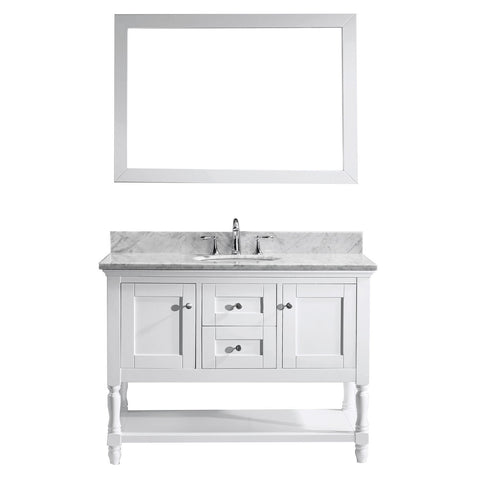 "48"" Single Bathroom Vanity MS-3148-WMRO-WH"