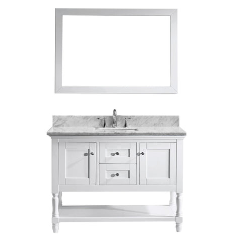 "48"" Single Bathroom Vanity MS-3148-WMSQ-WH"
