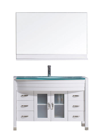 "48"" Single Bathroom Vanity MS-509-G-WH"