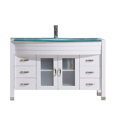 "48"" Single Bathroom Vanity MS-509-G-WH-NM"