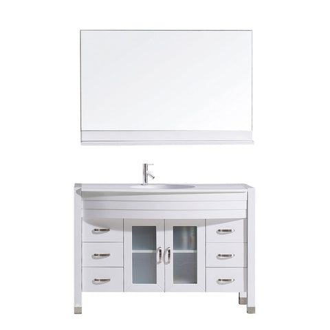 "48"" Single Bathroom Vanity MS-509-S-WH"