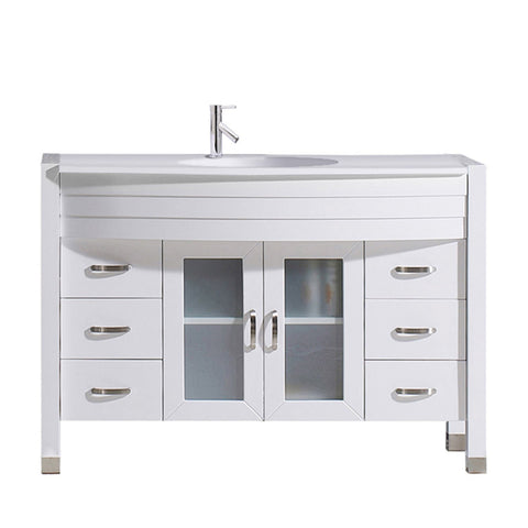 "48"" Single Bathroom Vanity MS-509-S-WH-NM"