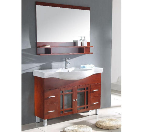 "Image of 48"" SINK CHEST  - SOLID WOOD - NO FAUCET WA3138"