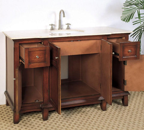 "Image of 53"" SINK CHEST  - NO FAUCET-BACKSPLASH AVALIBLE LF45"