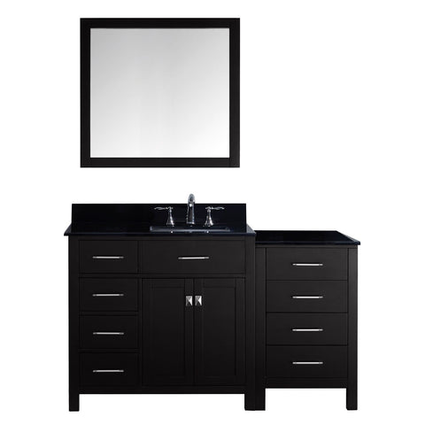 "Image of 57"" Single Bathroom Vanity MS-2157L-BGSQ-ES"