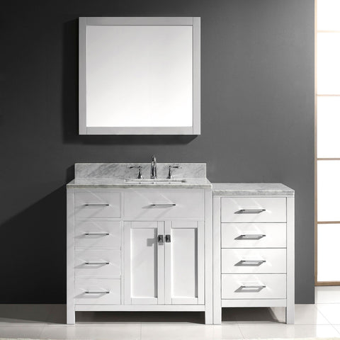 "57"" Single Bathroom Vanity MS-2157L-WMRO-ES"