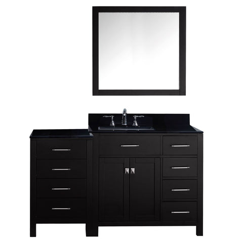 "Image of 57"" Single Bathroom Vanity MS-2157R-BGSQ-ES"