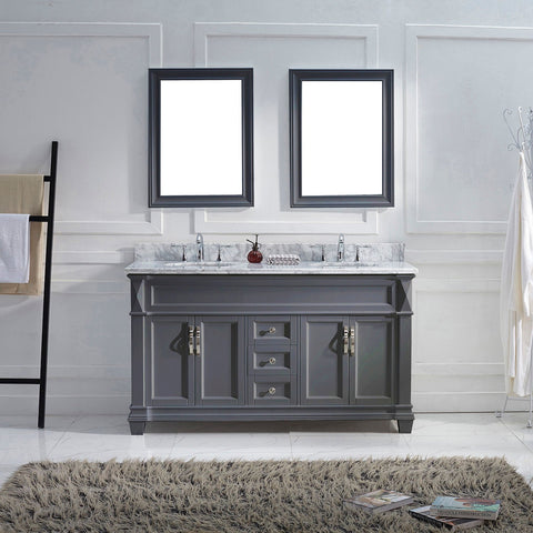"60"" Double Bathroom Vanity MD-2660-WMRO-ES"