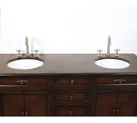 "Image of 68.5"" SINK CHEST  - NO FAUCET-BACKSPLASH AVALIBLE LF44"