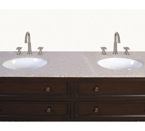 "Image of 68"" SINK CHEST  - NO FAUCET-BACKSPLASH AVALIBLE LF39"