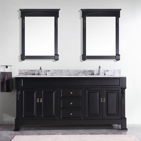 "72"" Double Bathroom Vanity"